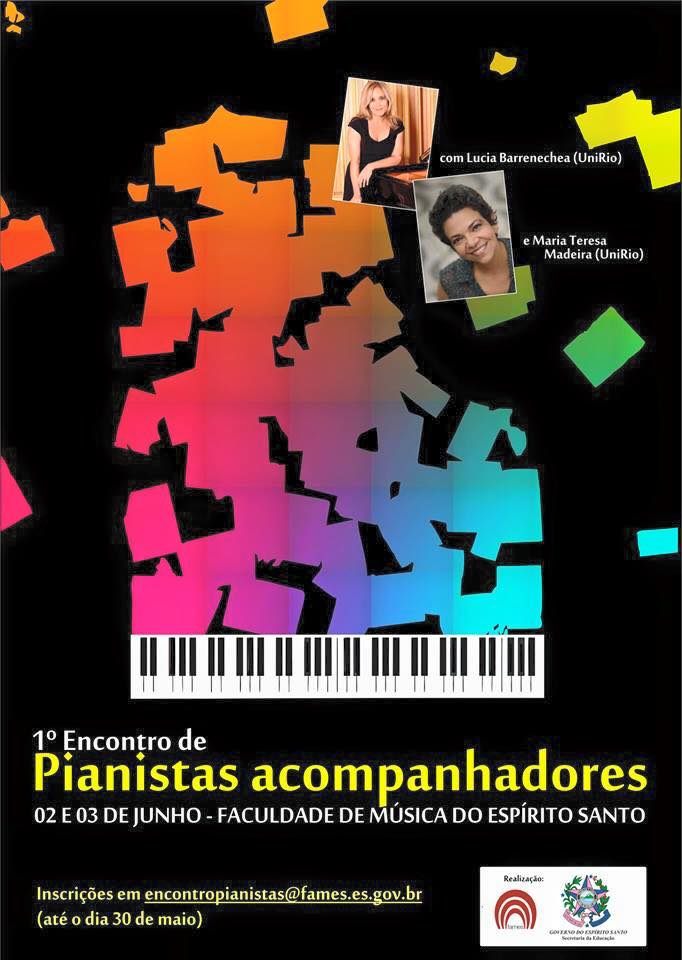 I Encontro de pianistas acompanhadores 2016